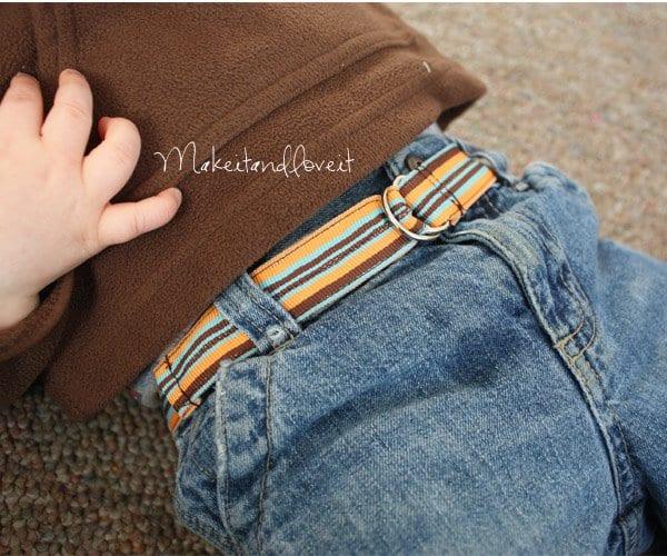 Boys Can Wear Cute Belts Too