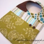 Scrap-Pieced Baby Bib