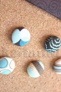 Cork Board & Fabric Tacks