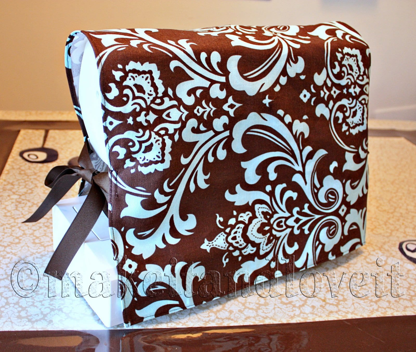Book Cover Sewing Machine : Sewing machine cover make it and love