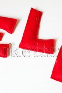 Bean Bag Letters