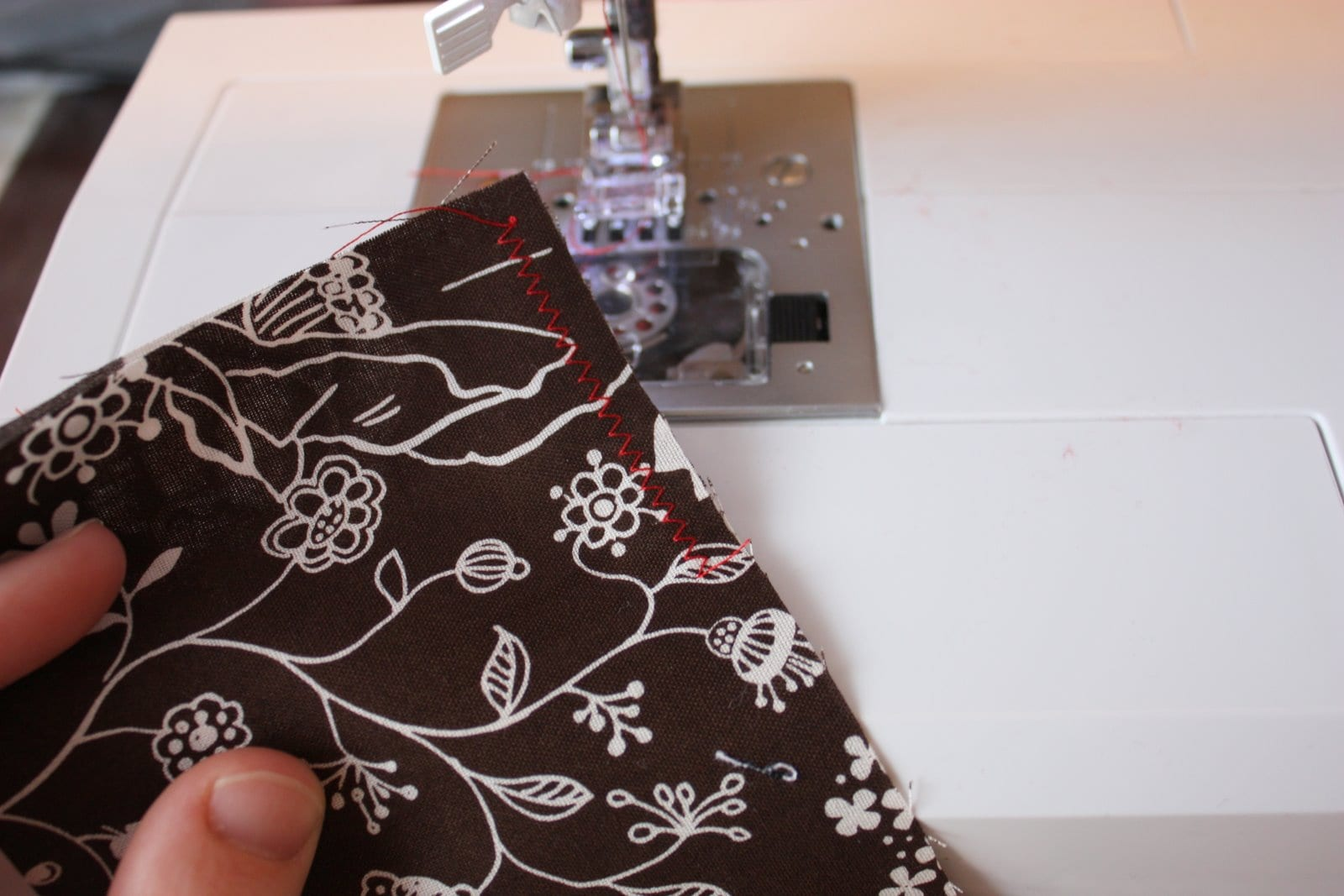 Sewing Tips – 'Right Sides Together' and Zig-Zag