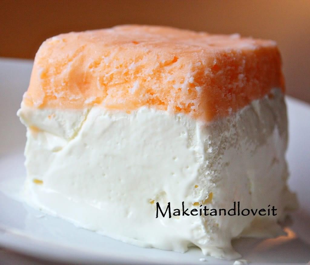 Frosty Orange Creme Dessert