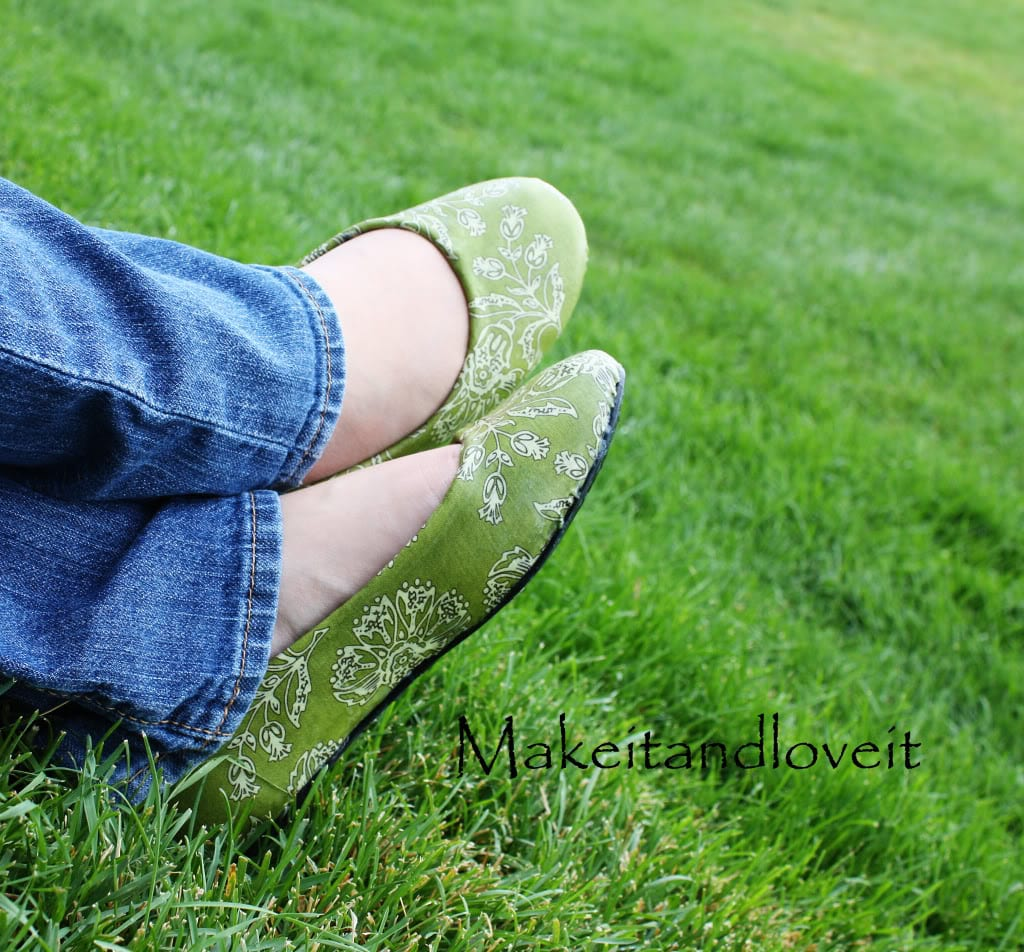 Mod Podge Shoes