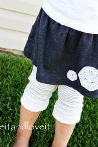 Repurposing - Skirt/Leggings