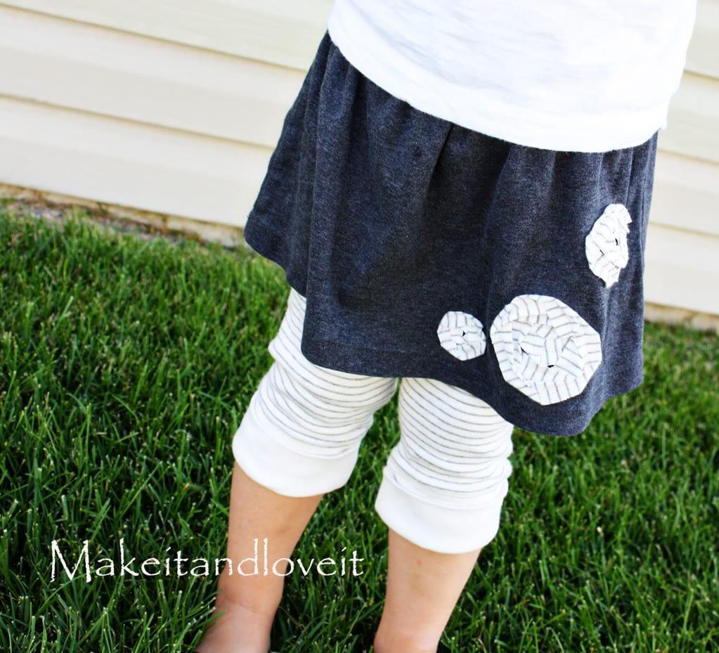 Repurposing – Skirt/Leggings