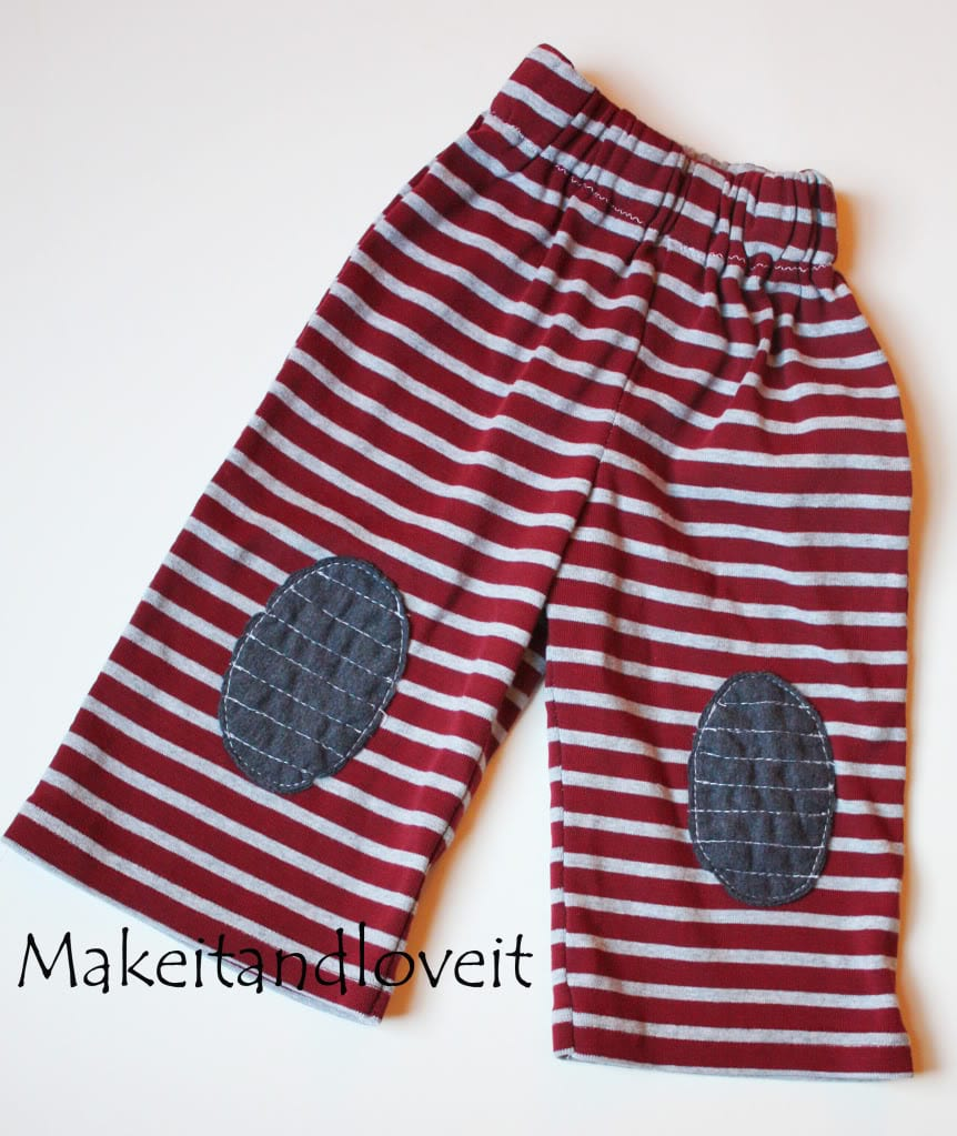 Repurposing – Boy's Lounge Pants