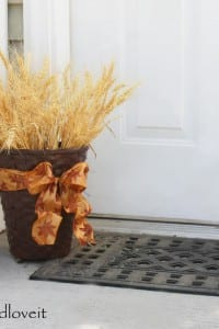 Autumn Wheat Basket