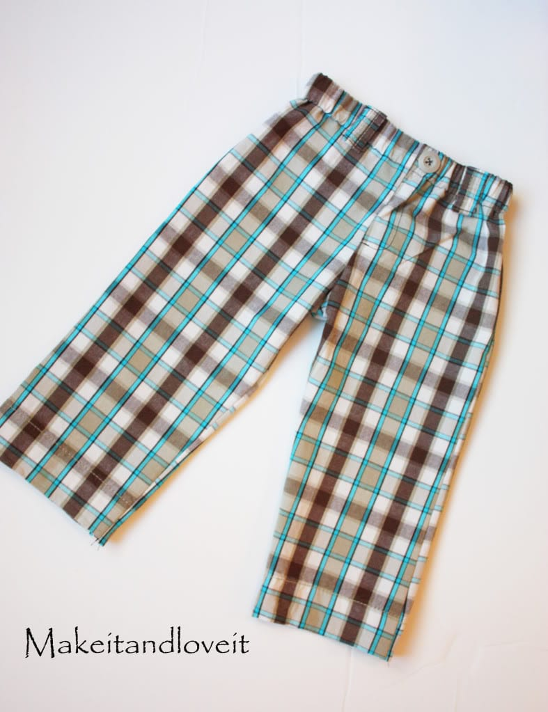 Re-Purposing: Boy's Pants
