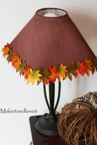 Autumn Lamp Shade