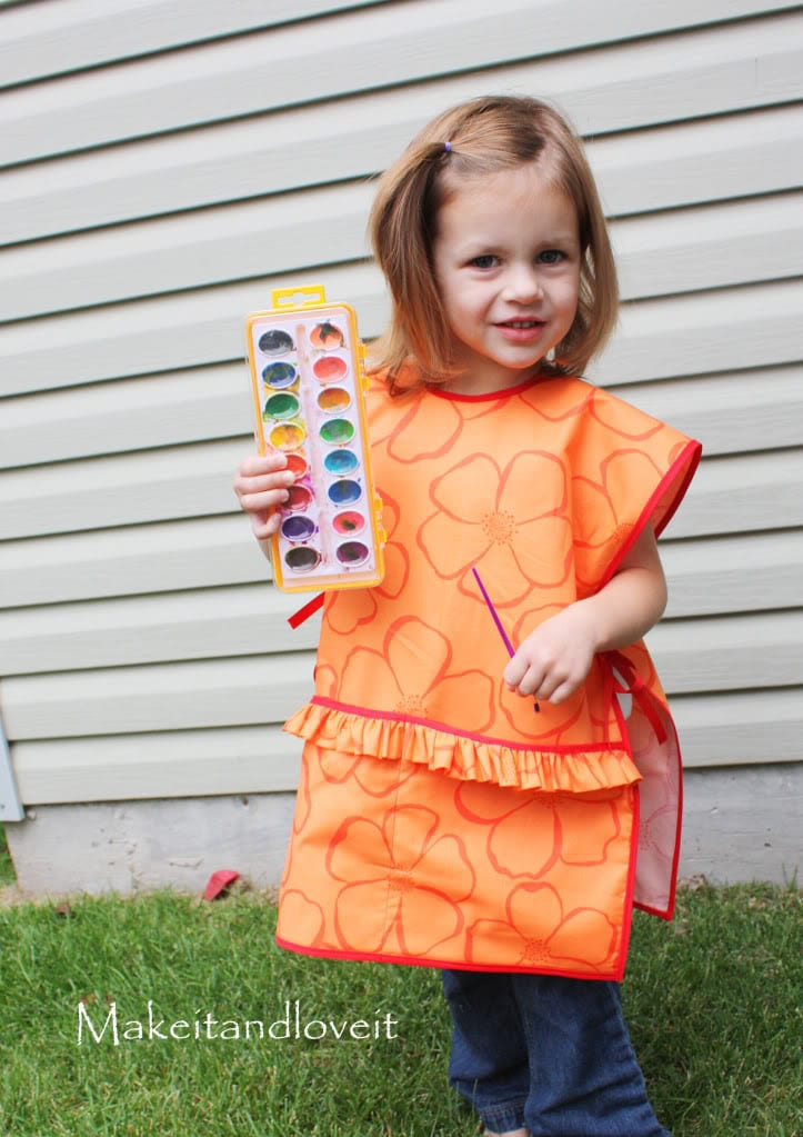 children 39 s art smock make it and love it