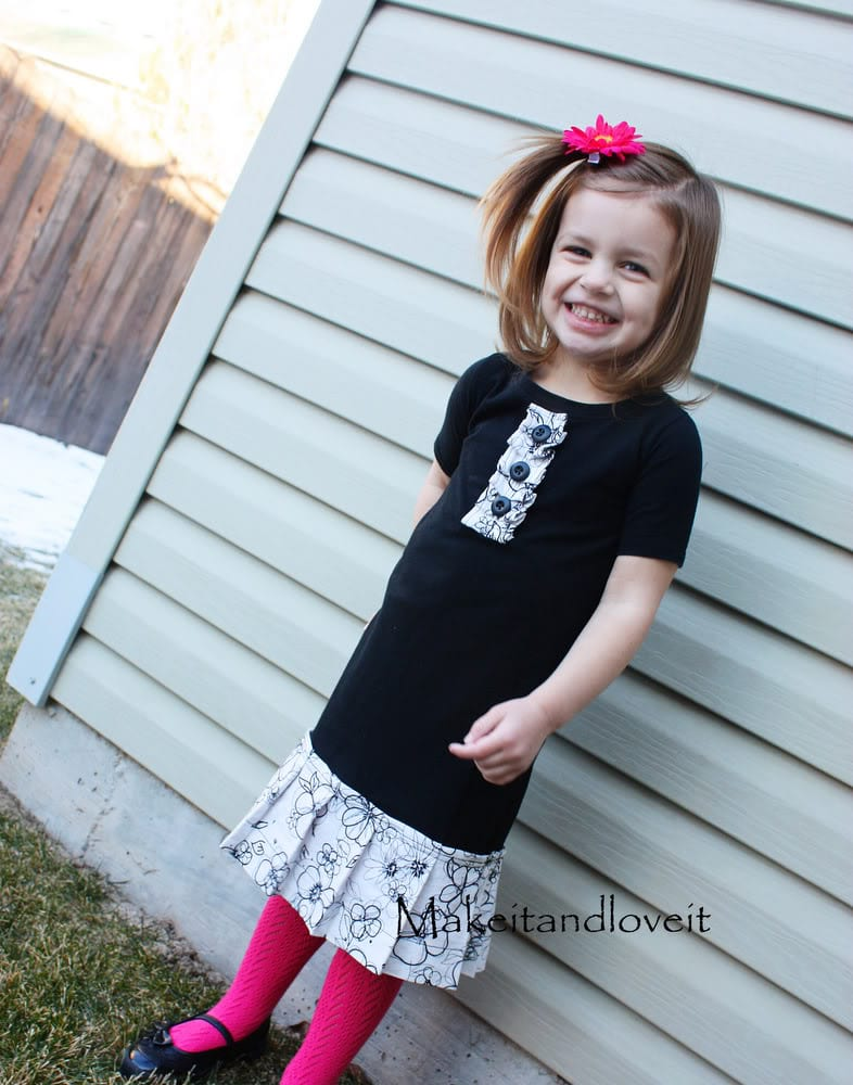 Re-Purposing: Girl's Dress