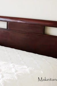 Decorate My Home, Part 4 - Refinish a Headboard