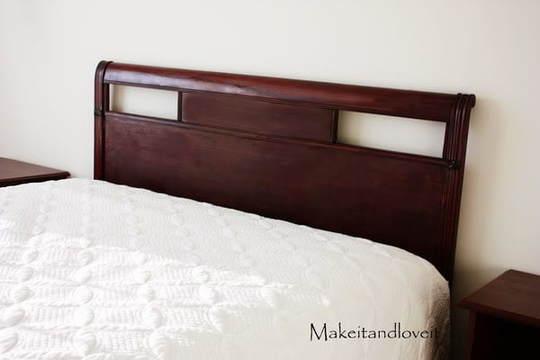 Decorate My Home, Part 4 – Refinish a Headboard