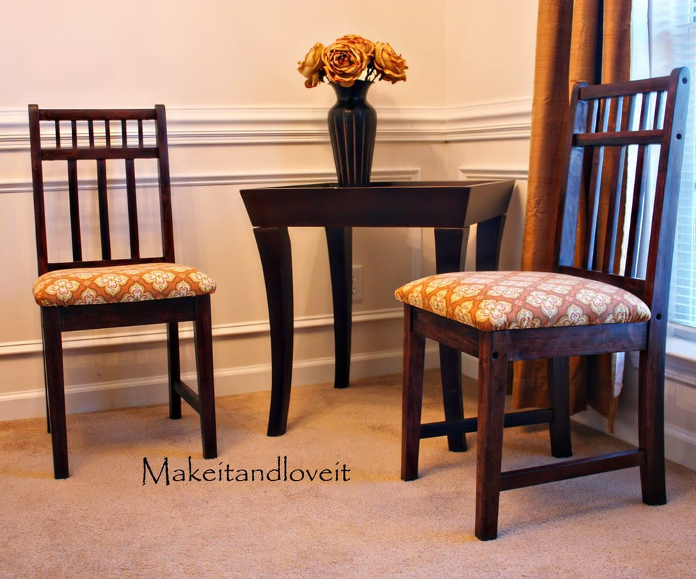 Decorate My Home, Part 2 – Chair Facelift