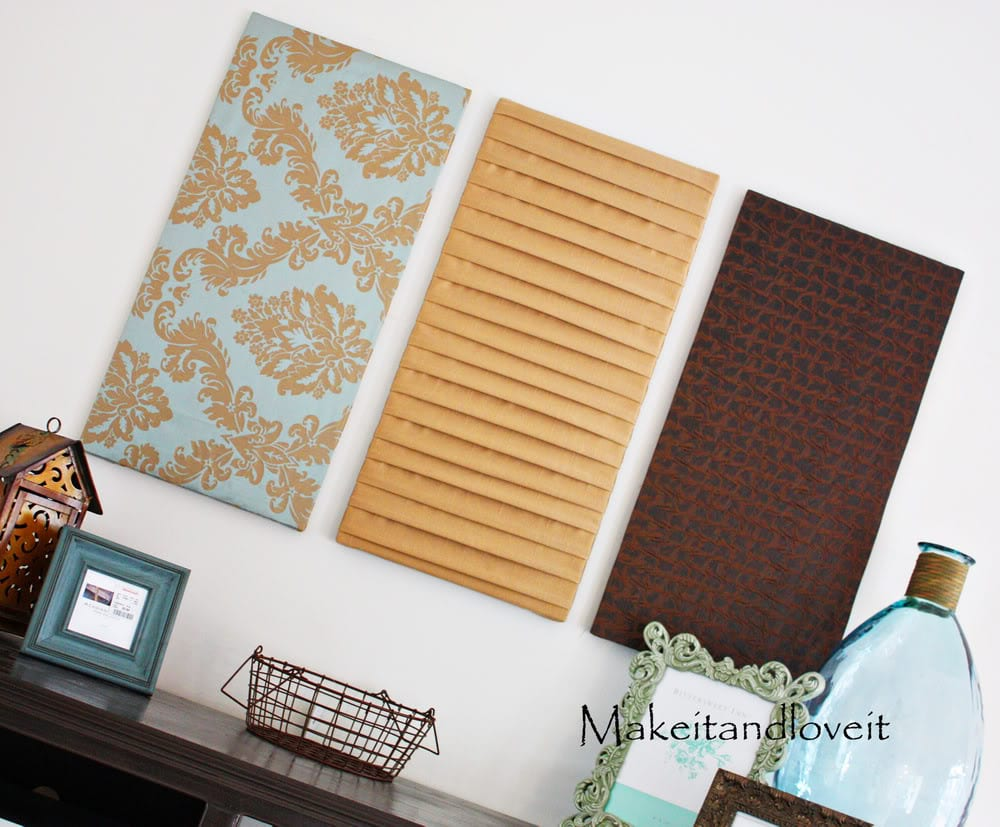 Decorate My Home, Part 9: Fabric Wall Hangings