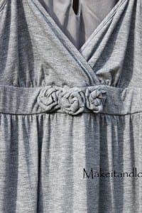 Altering a Knit Summer Dress