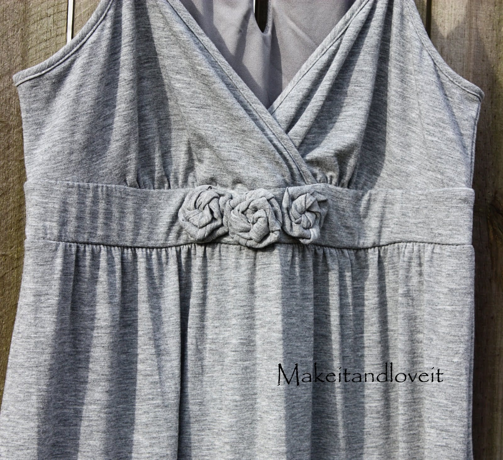 Altering a Knit Summer Dress