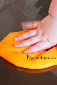 Making Homemade Gak