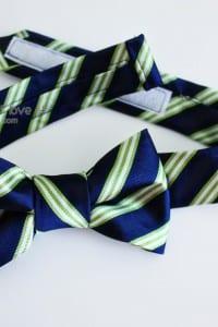Repurposing: Neck Tie into Bow Tie