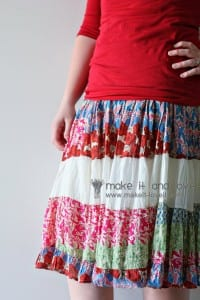 Re-purposing: Women's Dress to Skirt