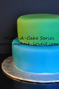 Make-A-Cake Series: Filling and Stacking a Cake
