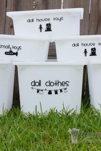 Decorate My Home, Part 22 - Toy Bin Labeling