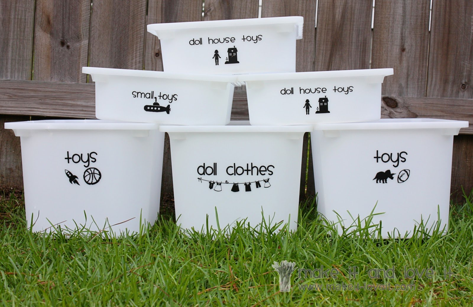 Decorate My Home, Part 22 – Toy Bin Labeling