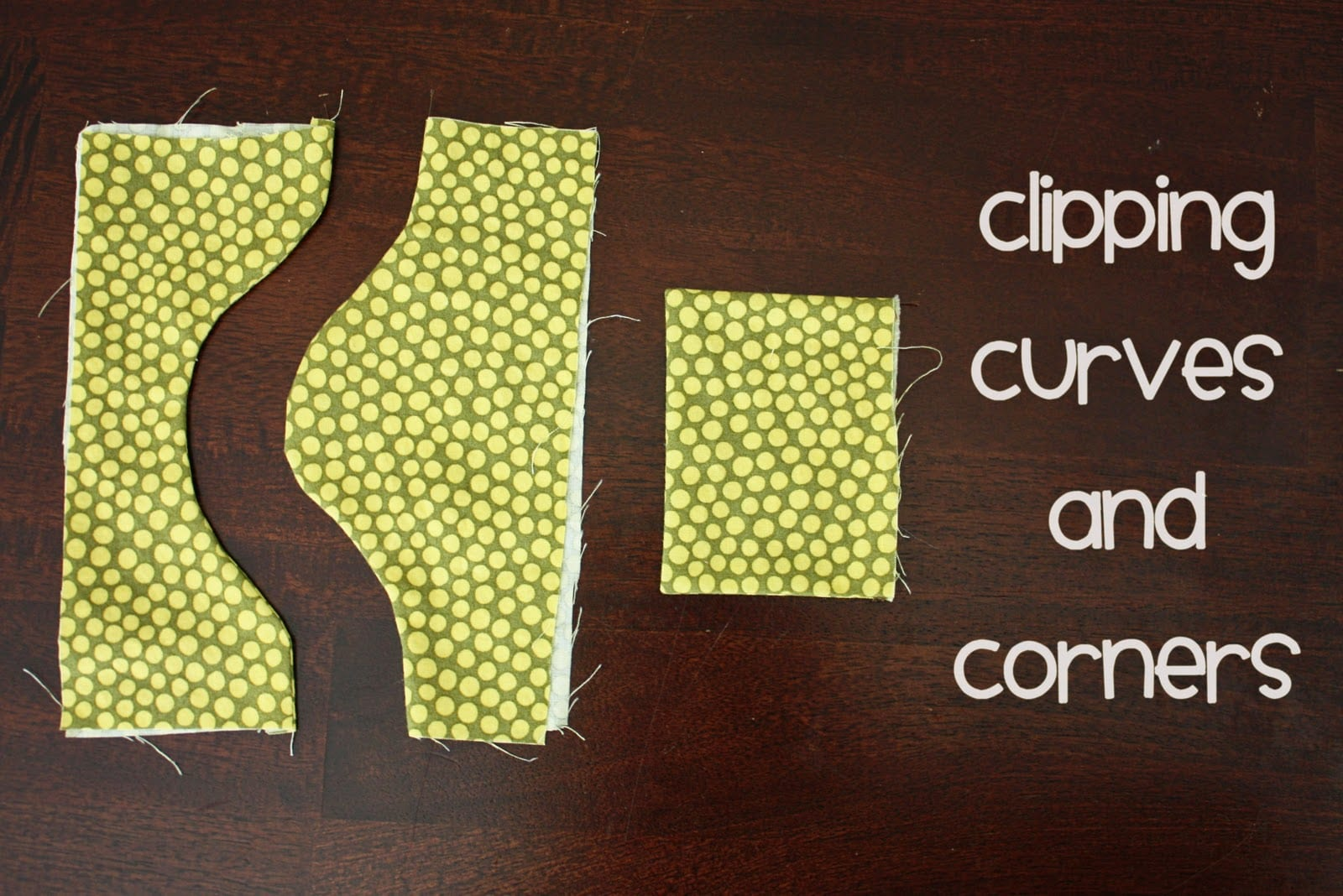 Sewing Tips – Clipping Corners and Curves