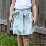 Paper Bag Skirt.......{{and hidden mistake}}