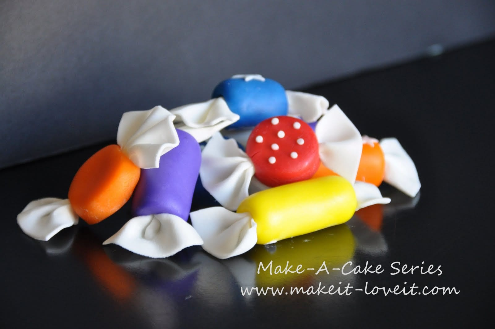 Make-a-Cake Series: Fondant Candy