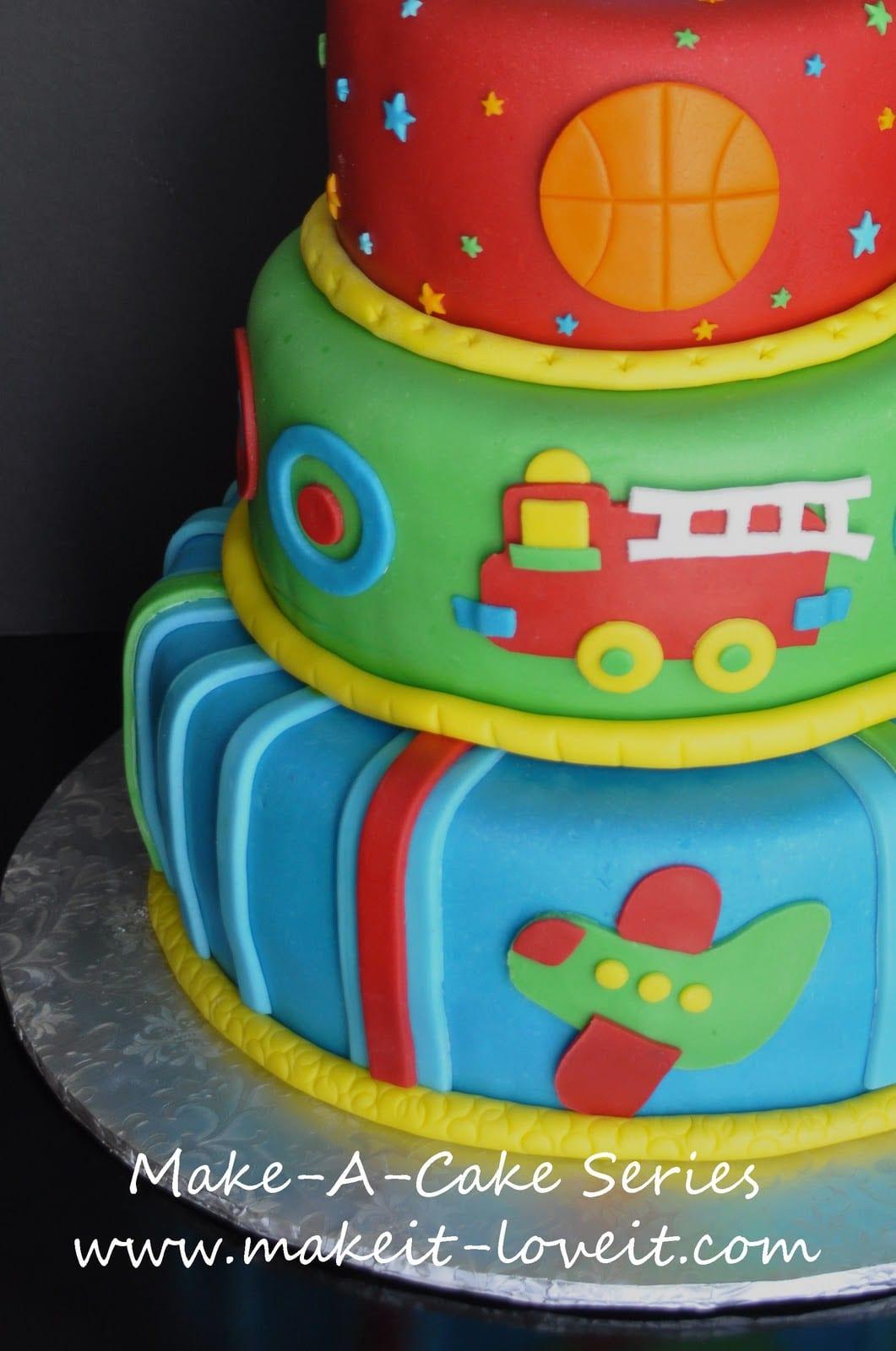 Make-a-Cake Series: Borders