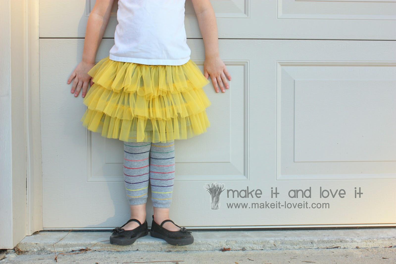 Fluffy Chiffon Skirt