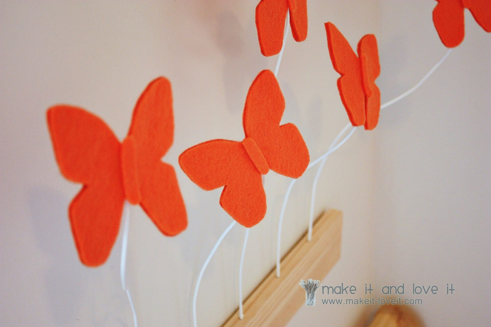 Decorate My Home, Part 25 : 3D Butterfly Wall Display