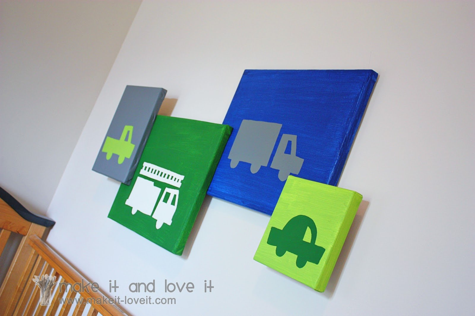 Decorate My Home, Part 24 – Painted Canvases