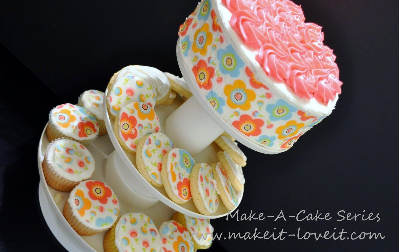Make-a-Cake Series: Cake Tattoo