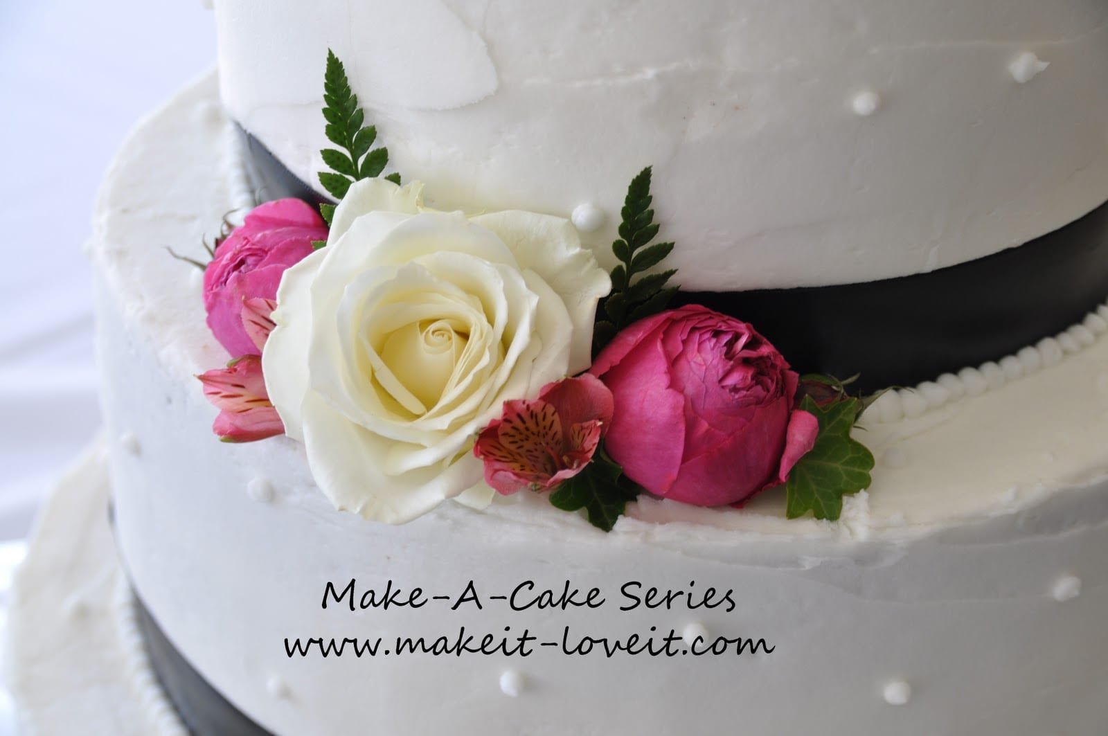 Make-a-Cake Series: Wedding Cakes