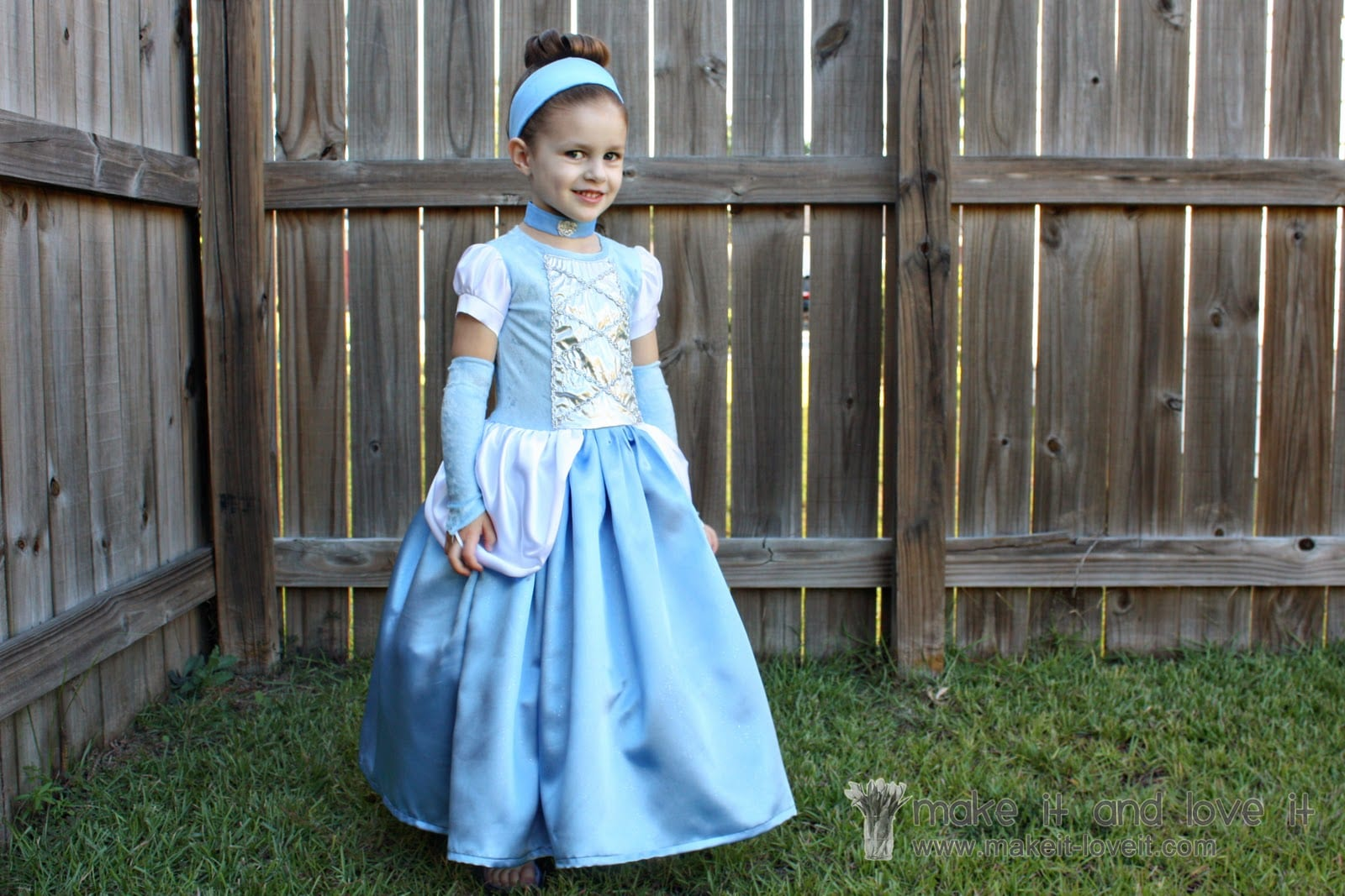 Cinderella Dress - Halloween Costume | Make It and Love It