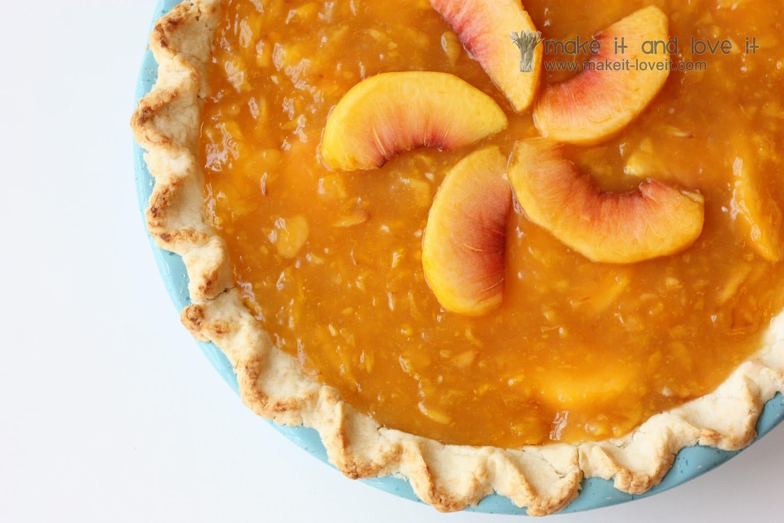 A bit of nostalgia and some delicious Peach Pie