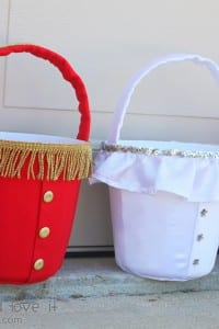 Halloween Buckets for Trick-or-Treating