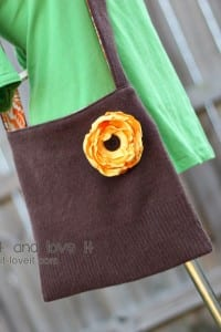 Re-Purposing: Sweater into Sling Purse