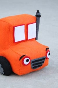Felt Toy Truck - Little Boy Gift Idea