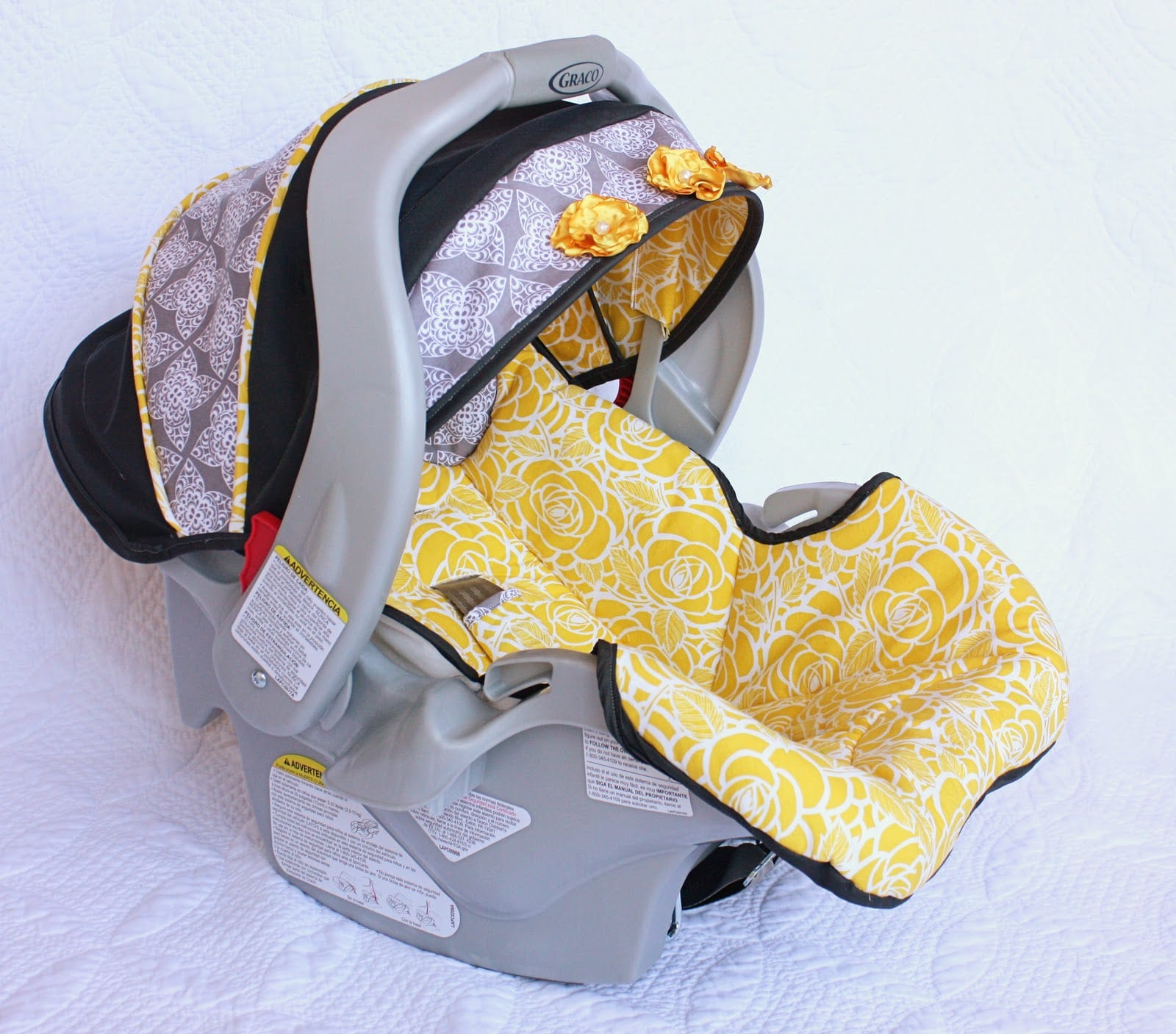 Recovering a Baby Car Seat