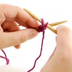 'Learn to Knit' MINI SERIES, Week 4: The Purl Stitch