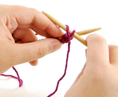 'Learn to Knit' MINI SERIES, Week 4: The Purl Stitch
