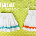 More spring dress/skirt ideas.......Jumbo Ric-Rac