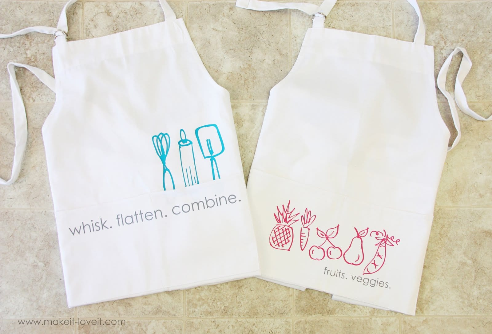 Aprons With Heat Transfer Vinyl Doodles Plus A Silhouette
