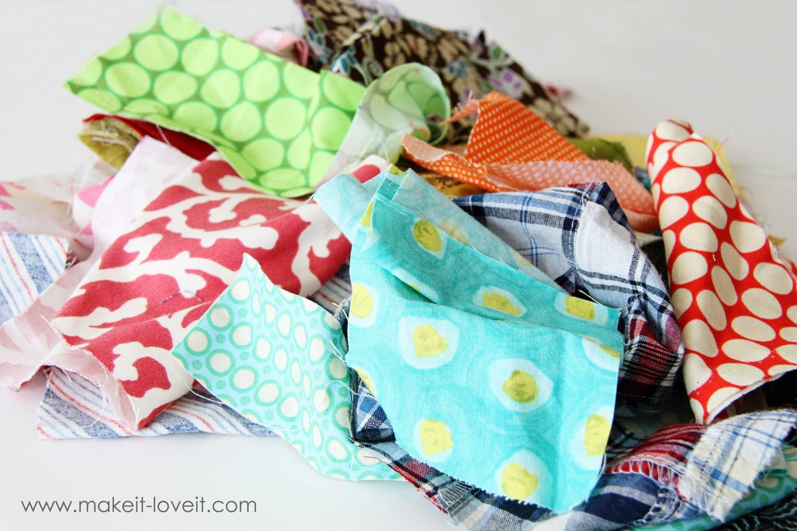 Fabric Scraps: Trash or Treasure?