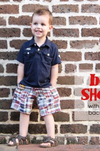 Make your own Boy Shorts: with front pockets/back flaps