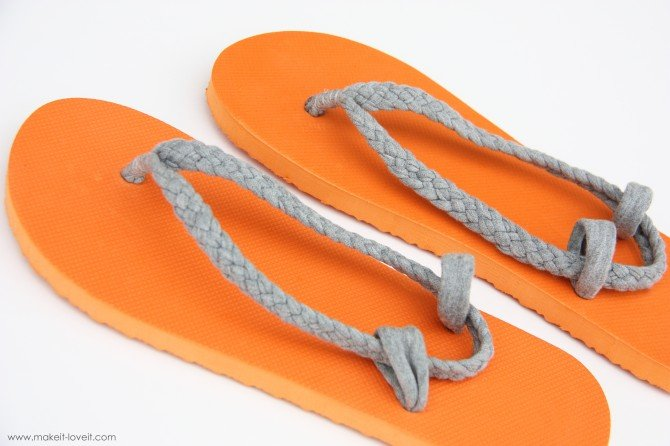 Flip-Flop Refashion - Make It & Love It